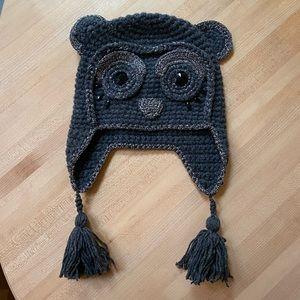 BCBG Cute Owl Hat